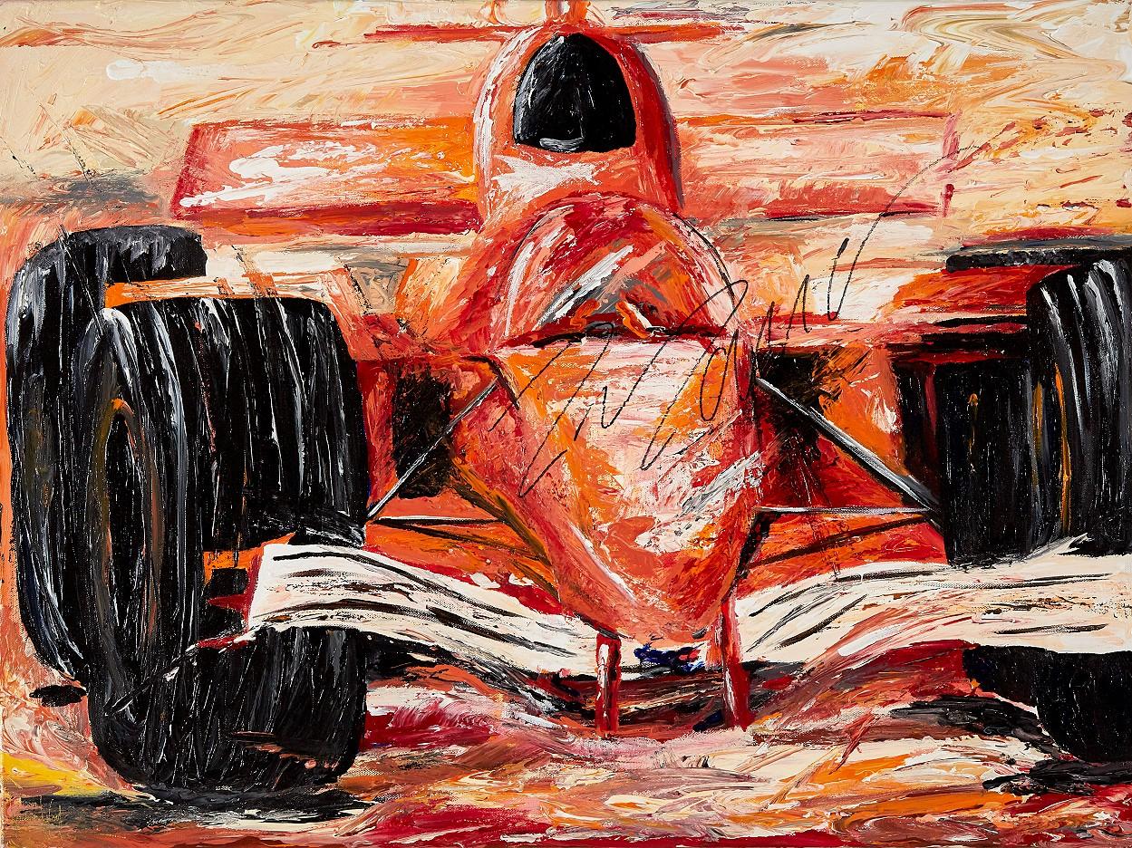 Bolide mit Originalautogramm von Felipe Massa