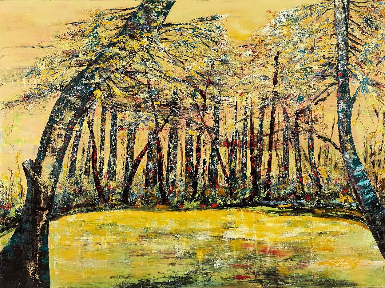 Birkenwald am See