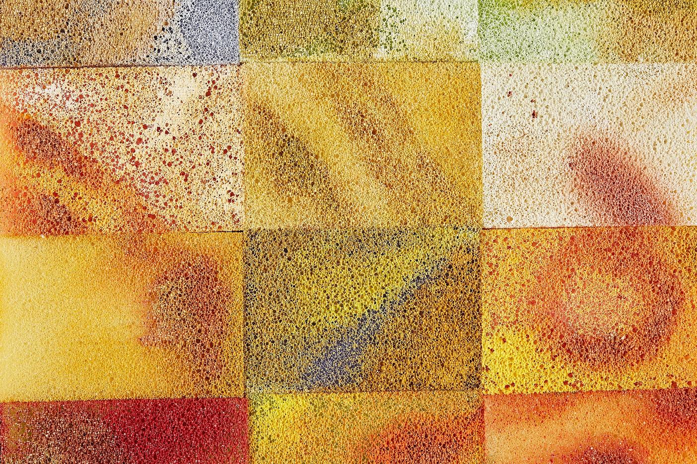 Abstrakt: Happy Sponges