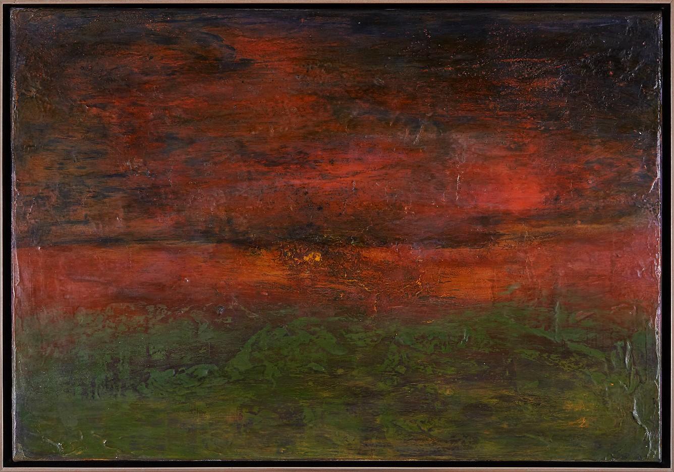 Stora Alvaret - Heide im Abendlicht