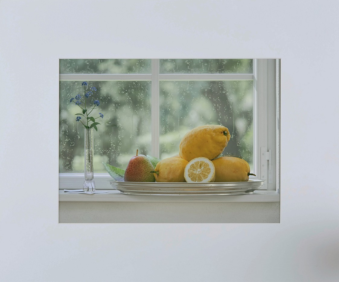 am Fenster 03 - rainy day