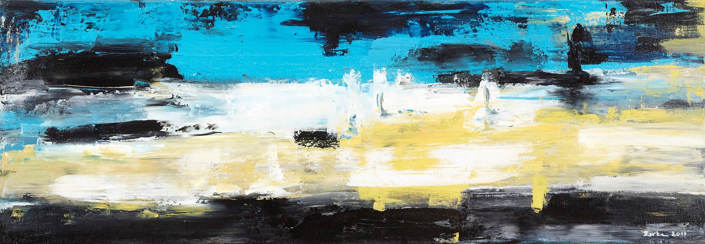Gelb im Blau