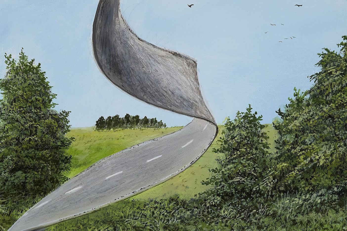 Straßenverkehrt
