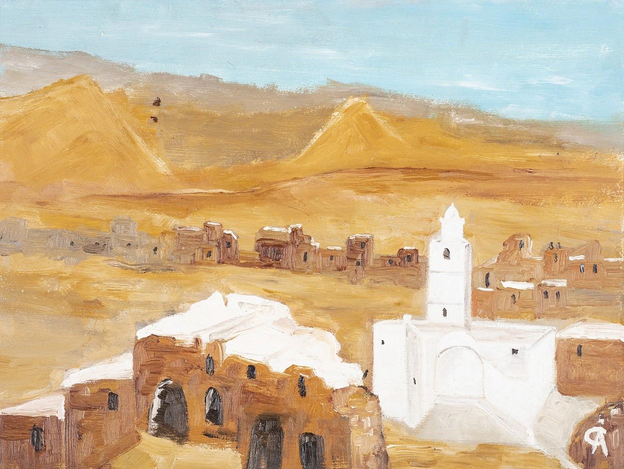 Tunesien-Dorf bei Djerba