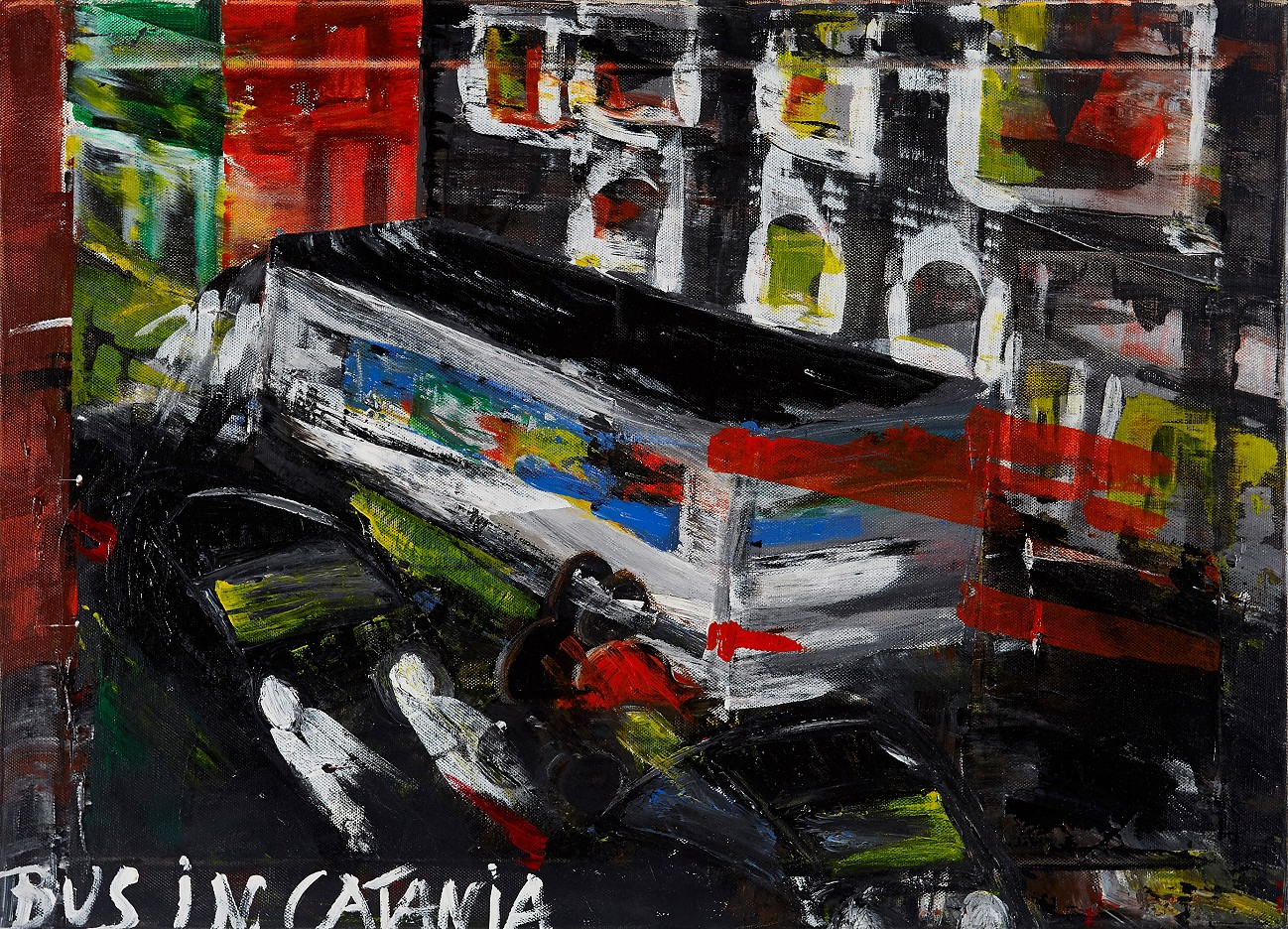 Bus in Catania