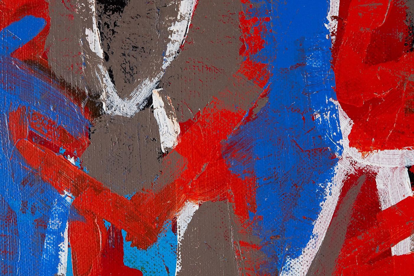 Dünnhäutige Menschen blau (liebende Außenseiter)