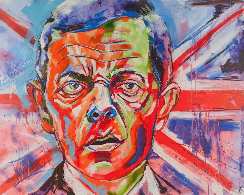 """Mr. B."" - Hommage an Rowan Atkinson - miho   9/2015 (Nr. 10/10)"