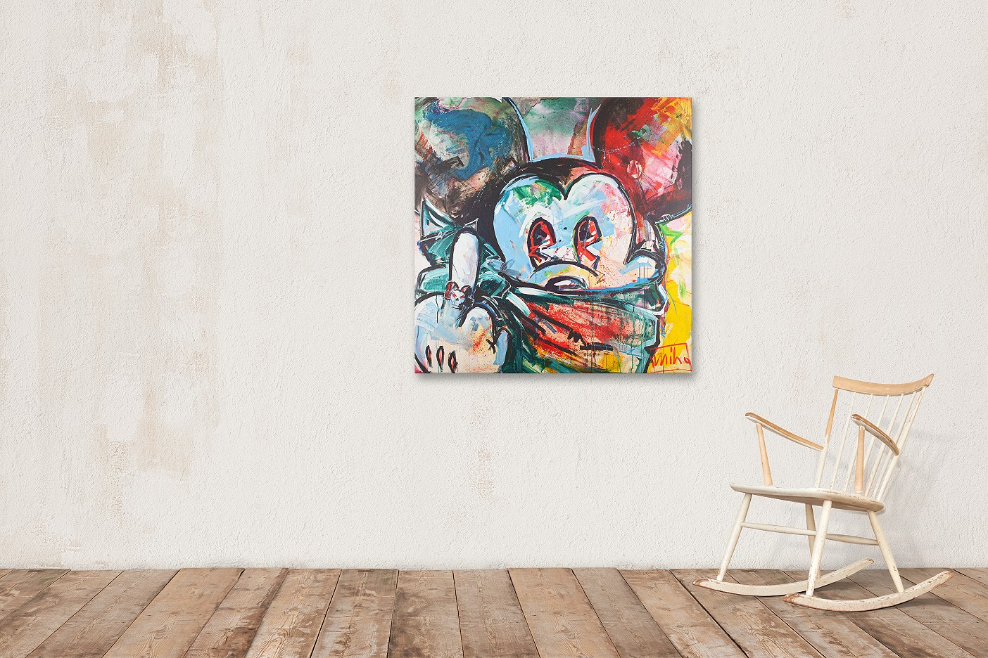 """Mickey I"" - Hommage an Mickey Mouse - miho 