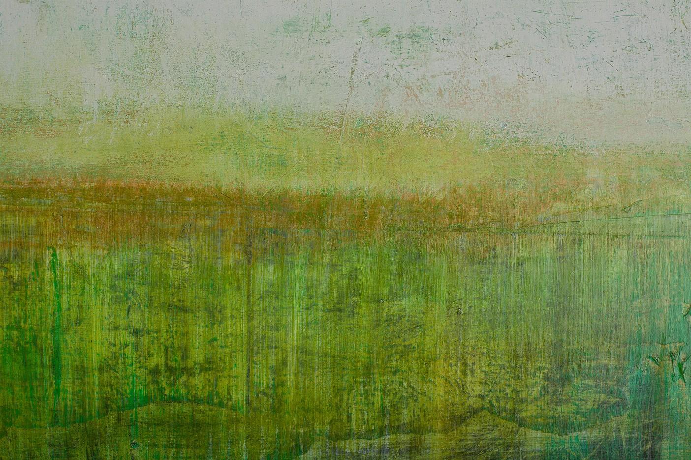 spring in goldgrün