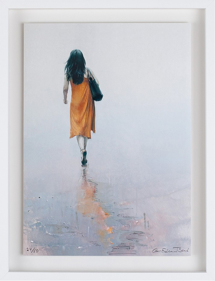 OHNE TITEL (Frau mit orange)