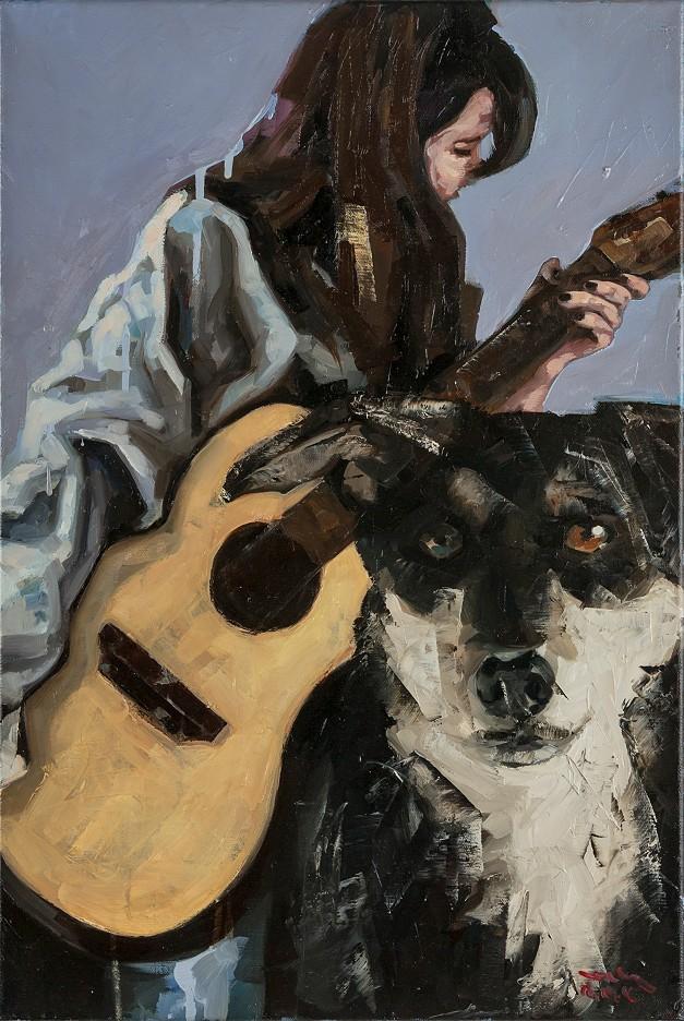 """""""Der Straßenhund"""" (Studie)"""