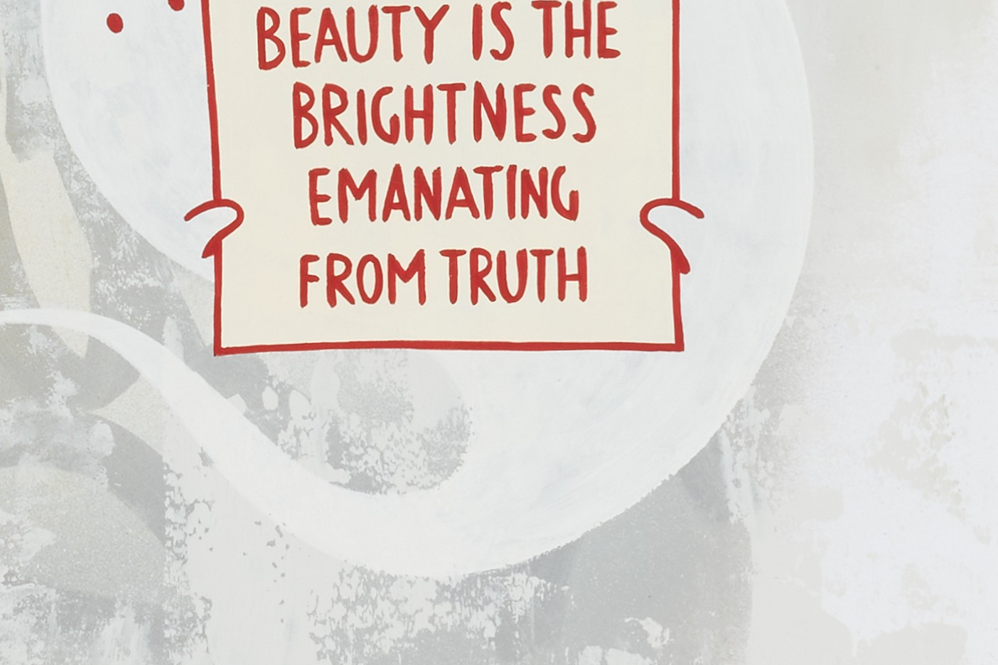 Beauty Is The Brightness Emanating From Truth