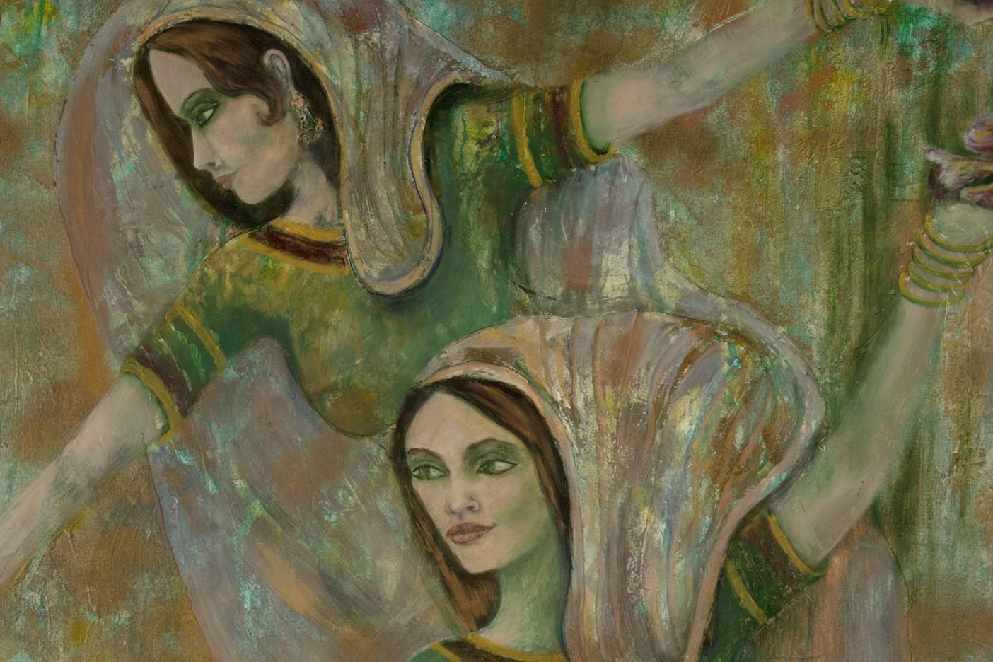 3 Indian dancers