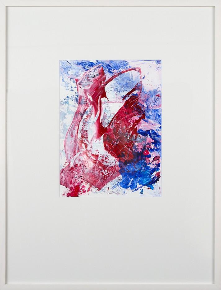 Komposition Rot Weiß Blau II