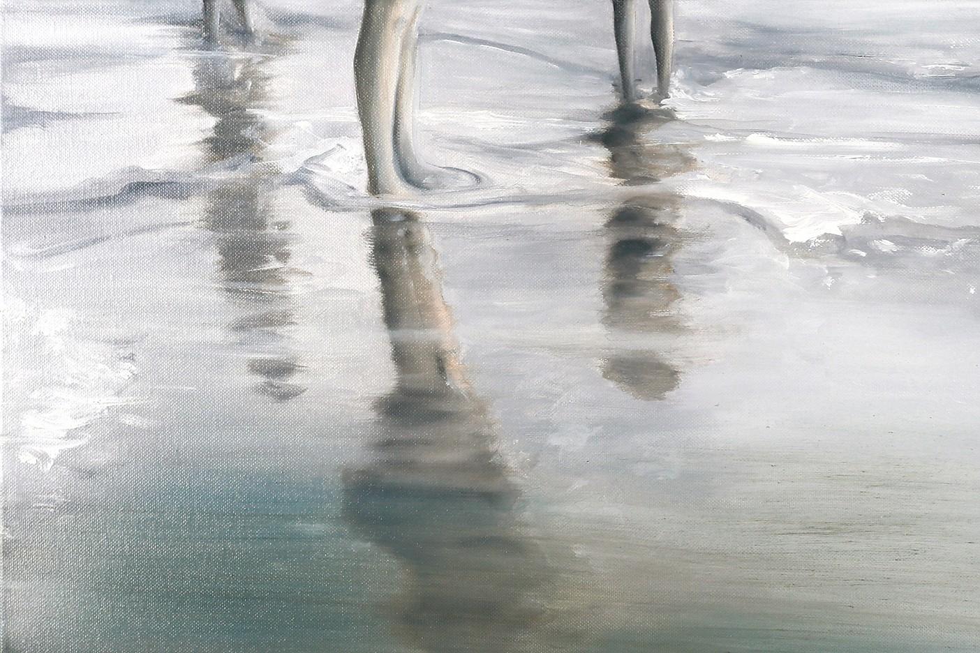 Barfuß am Strand