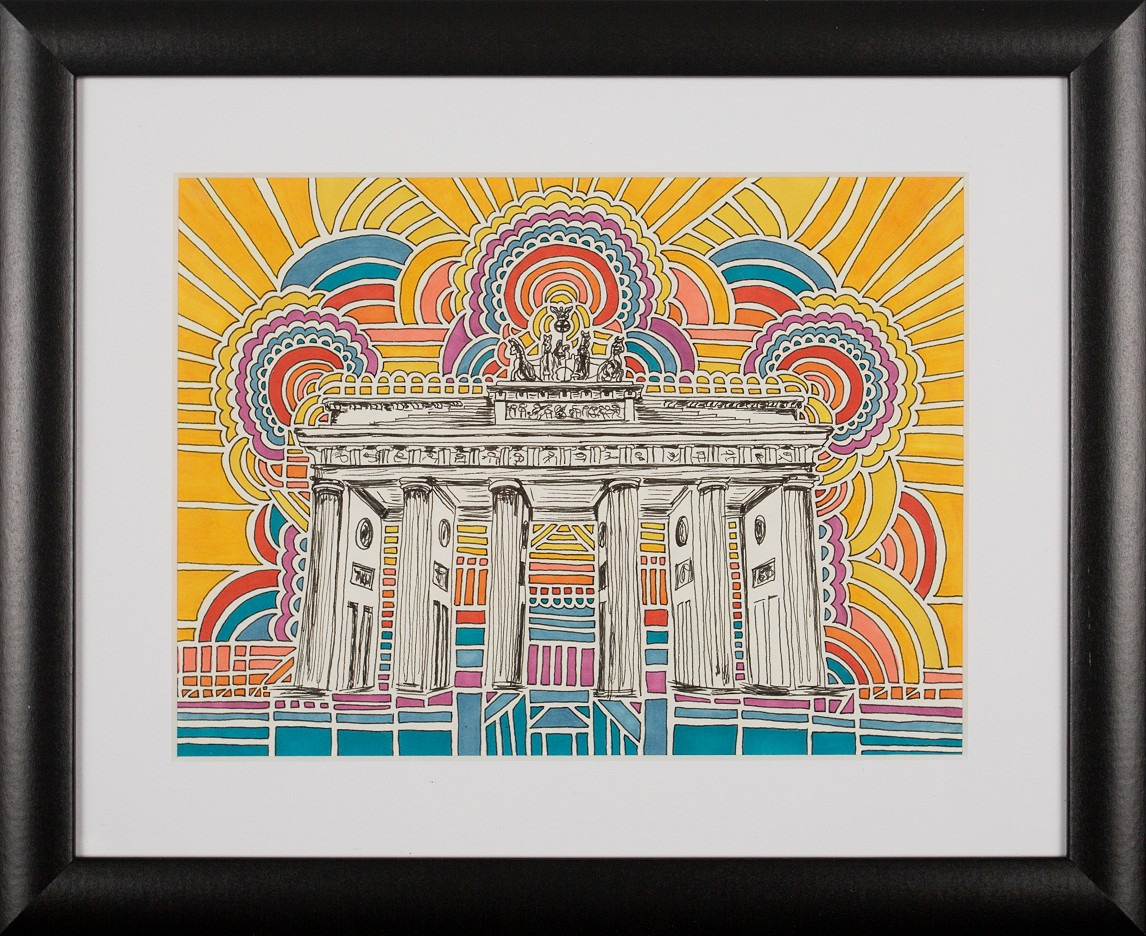 Brandenburger Tor Drawing Meditation