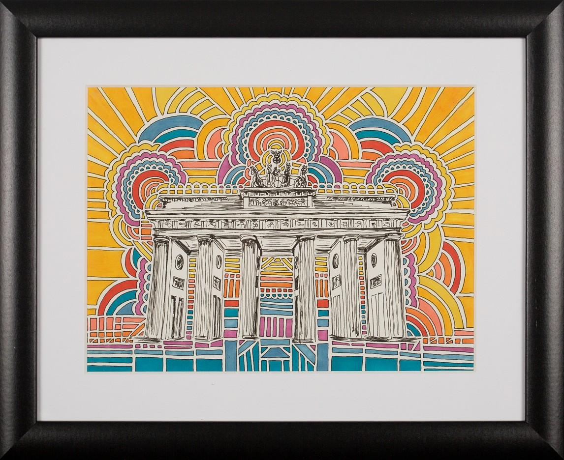 Brandenburger Tor Drawing Meditation