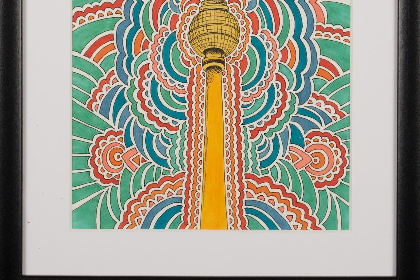 Fernsehturm Drawing Meditation