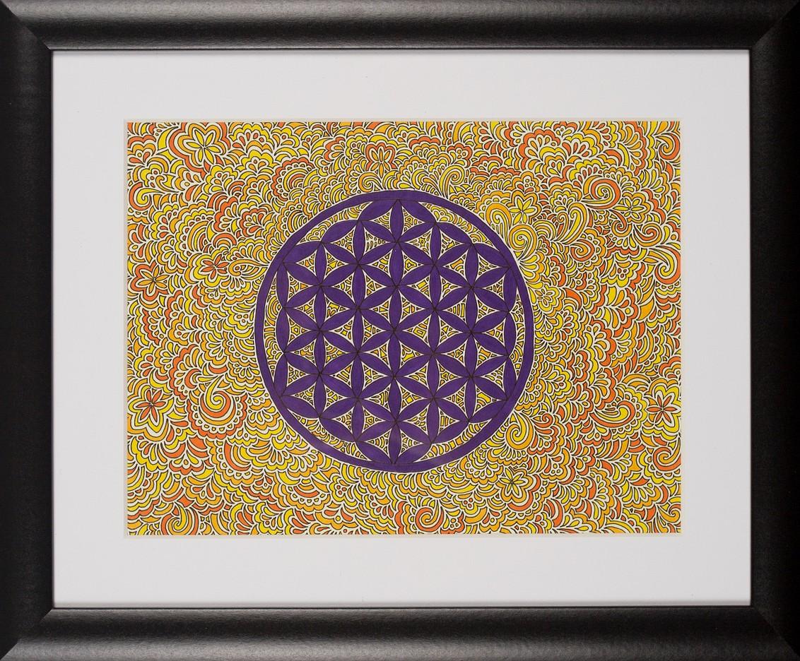 Blume des Lebens Drawing Meditation