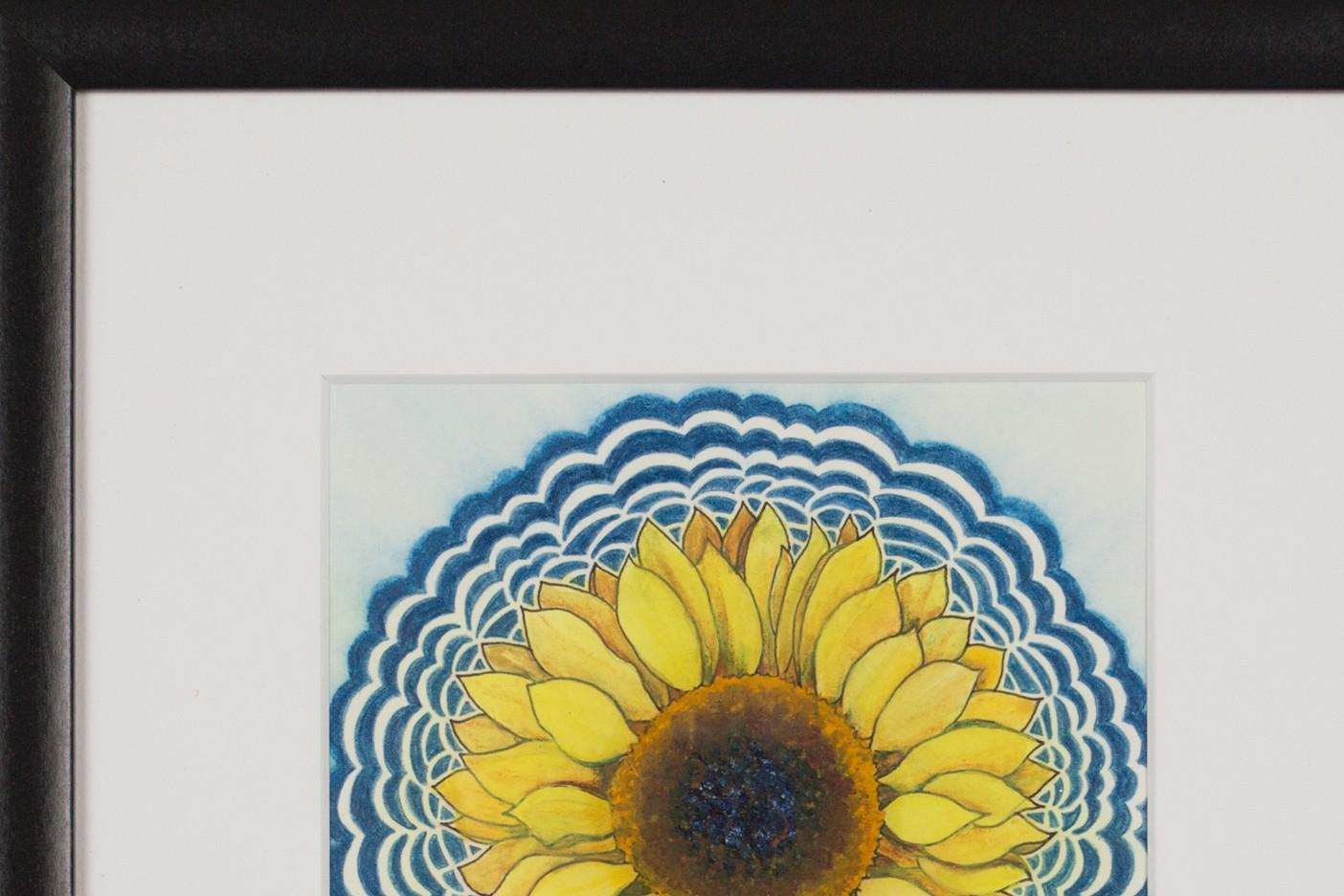Sunflower Drawing Meditation