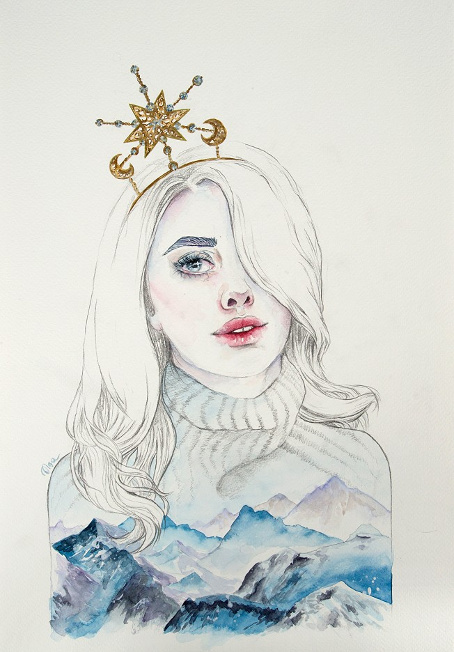 Modern Ice Queen