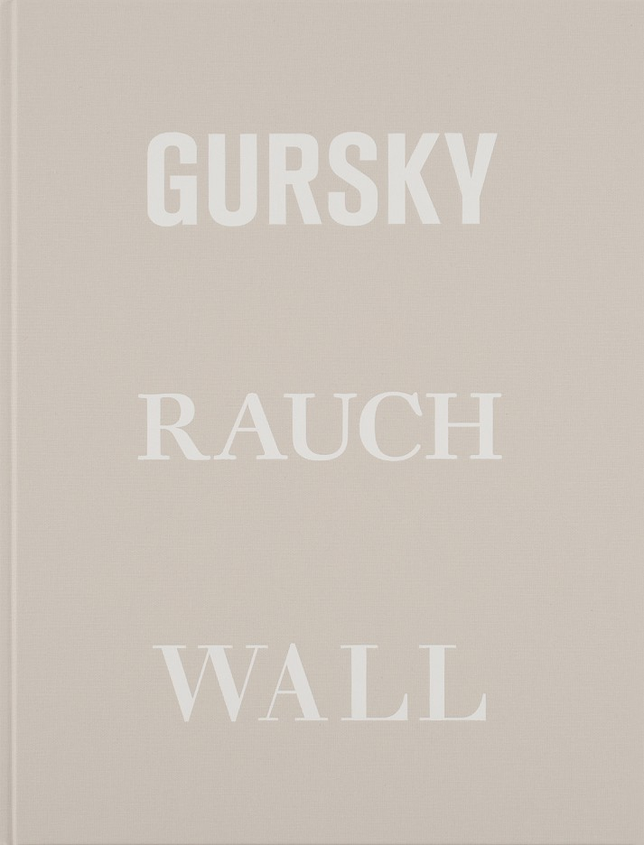 Andreas Gursky, Neo Rauch, Jeff Wall