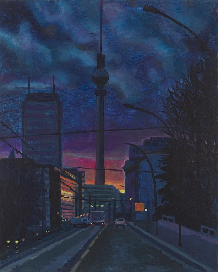 Himmel über Berlin , Prenzlauer Allee