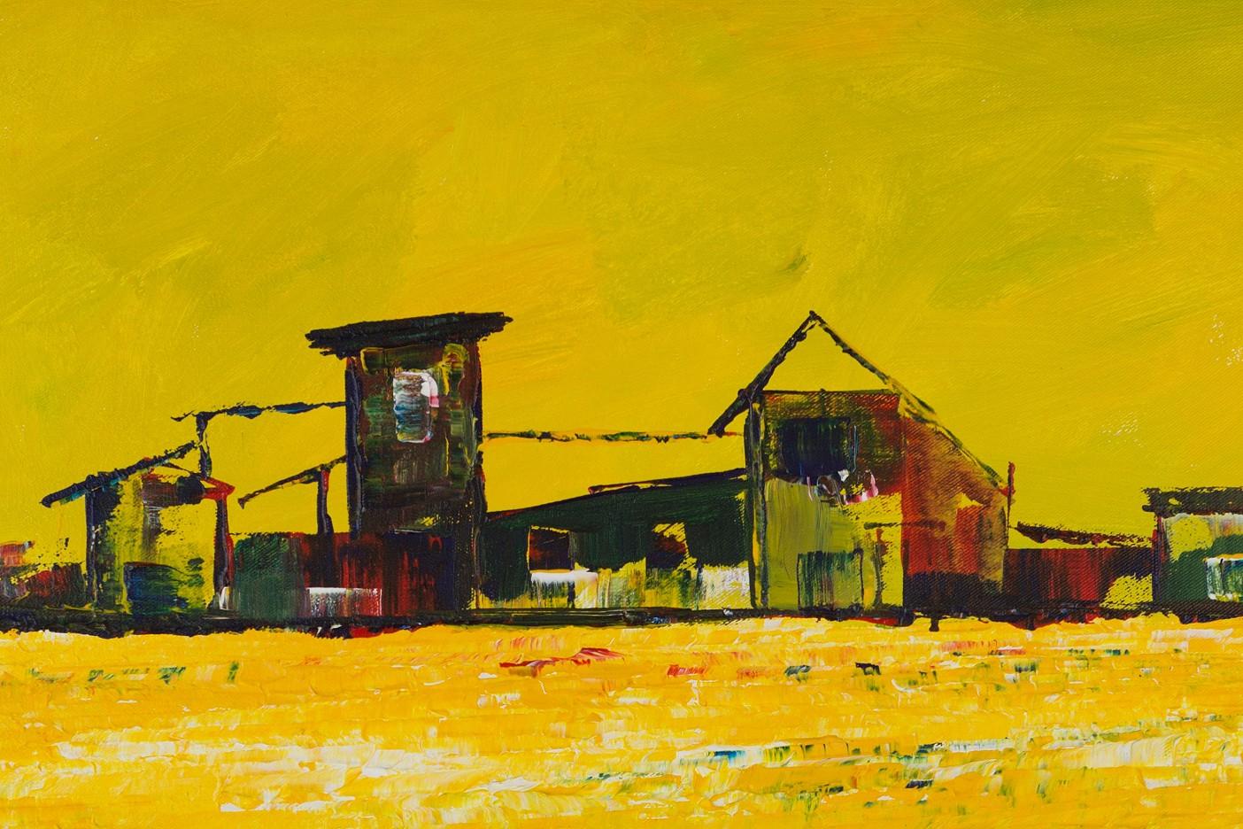 Gelbe Landschaft