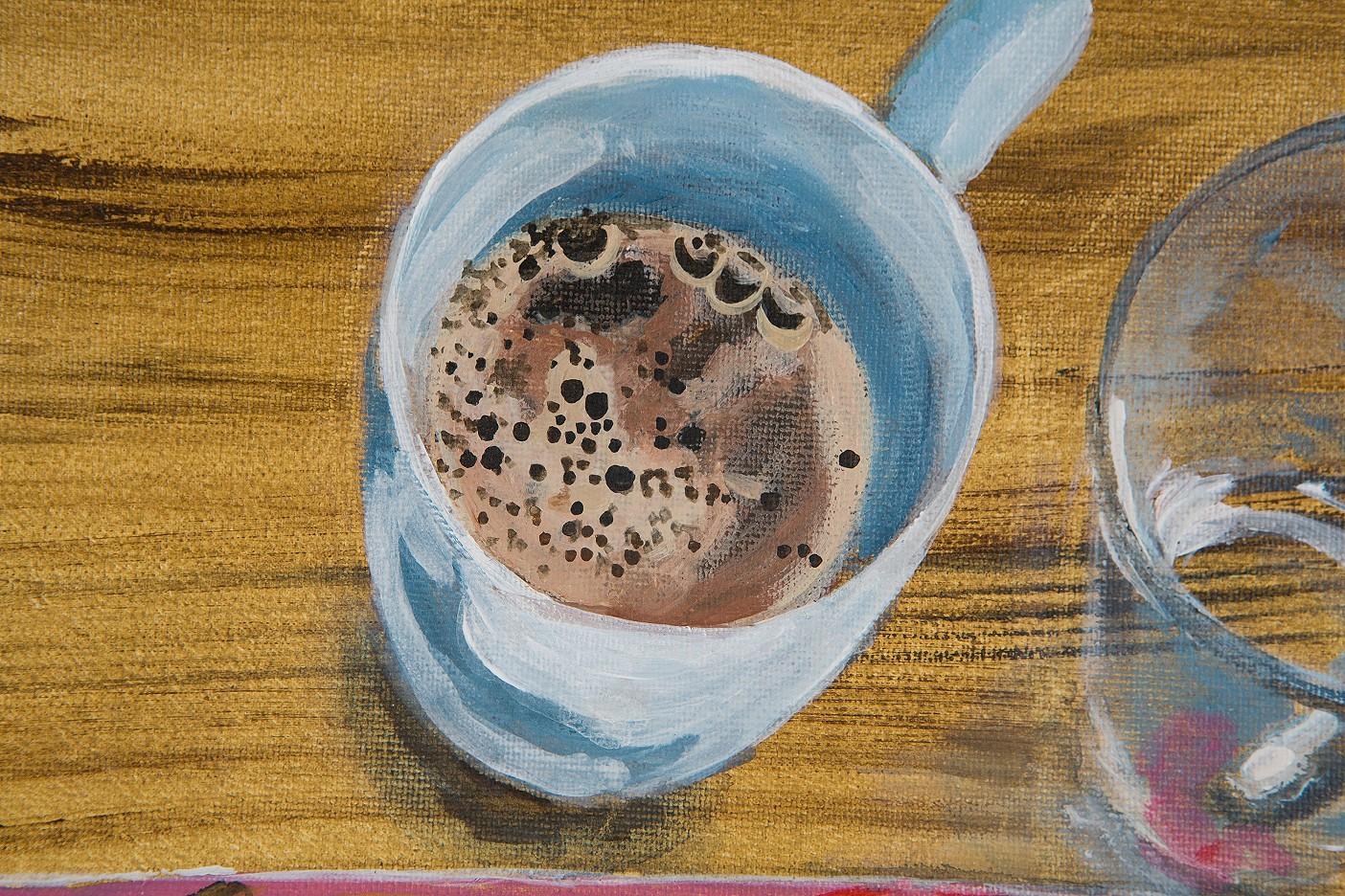 Kaffee Pink