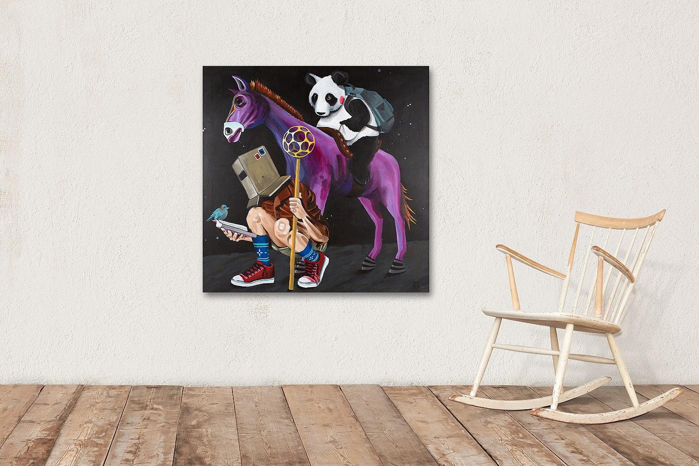 Don Quijote und Sancho Panda