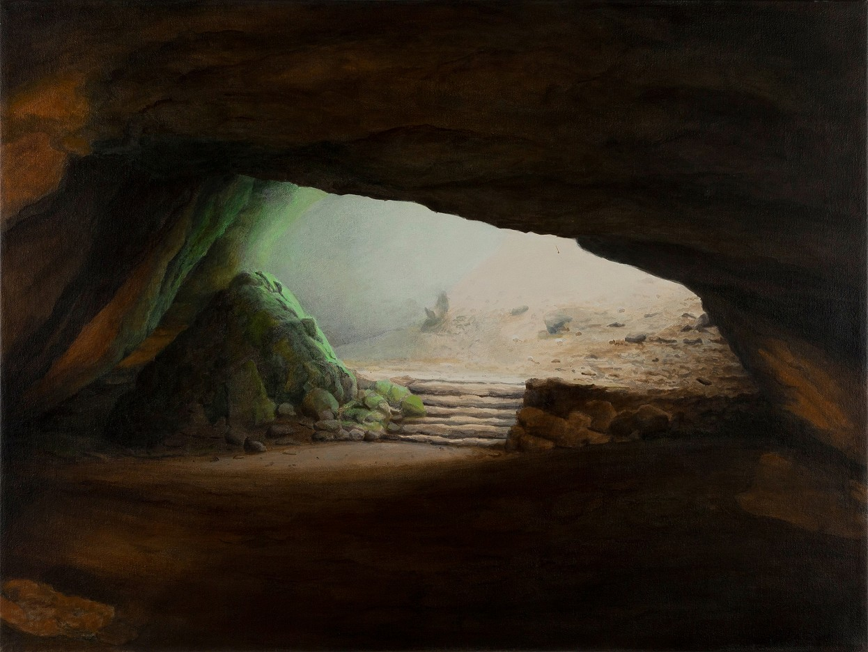 Höhle im Harz
