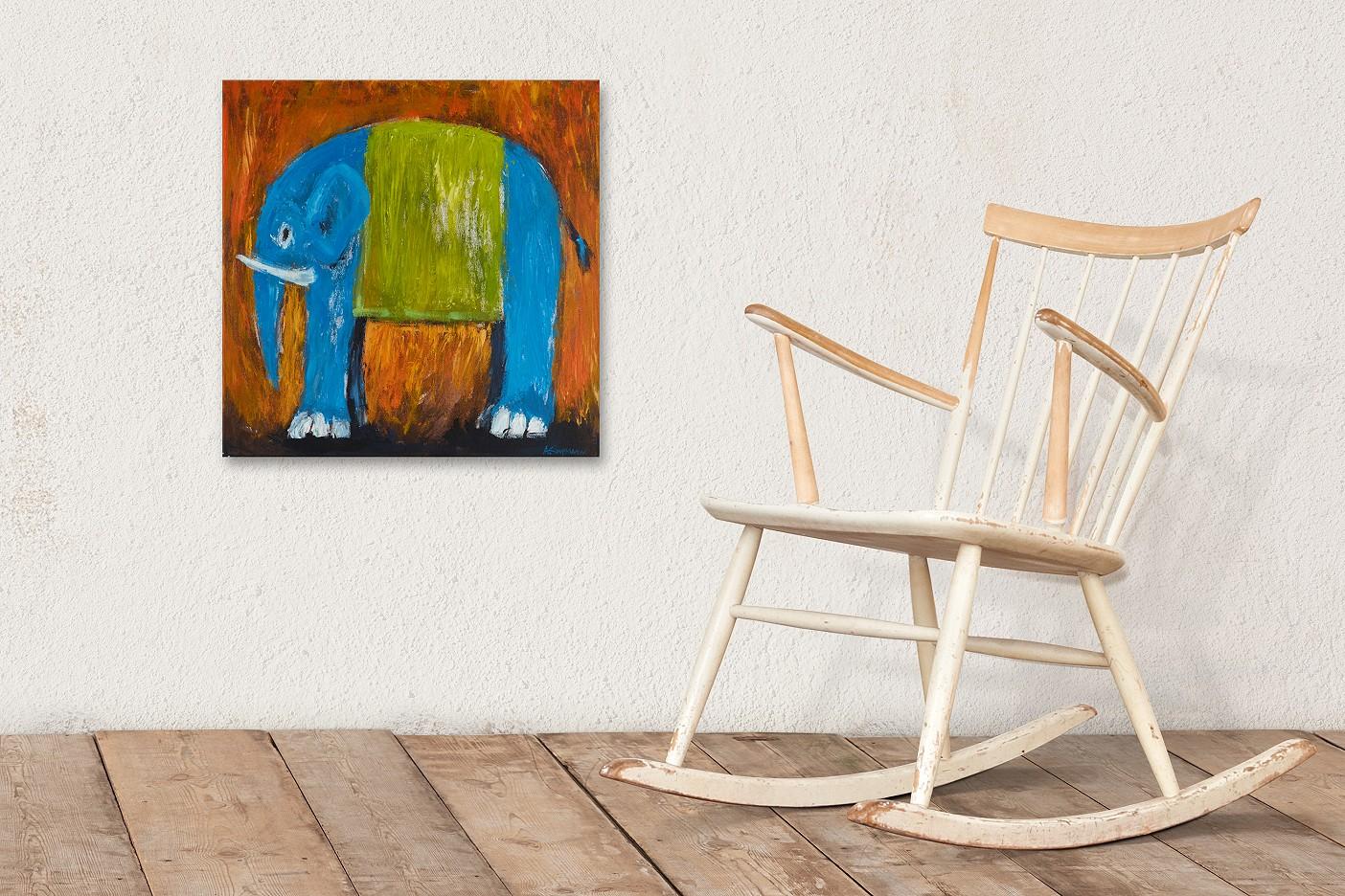 Elefant von rechts