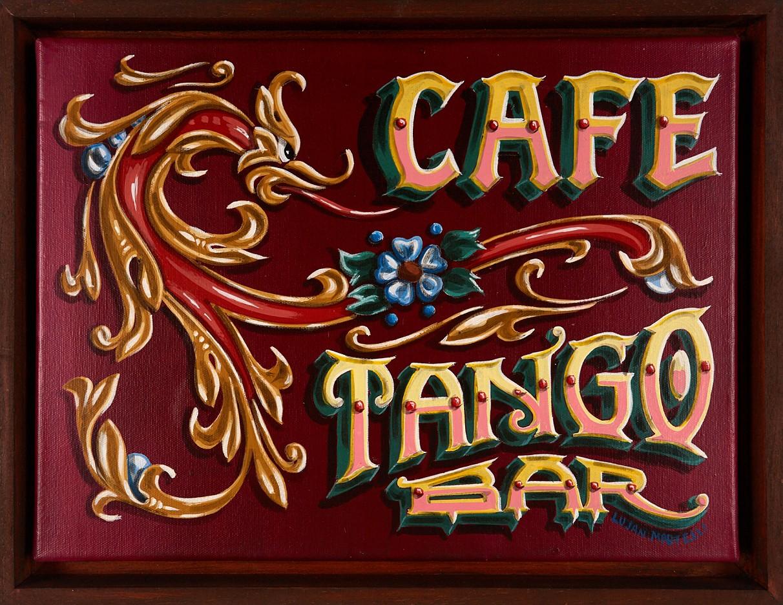 Tango Bar 1, en Filete Porteño