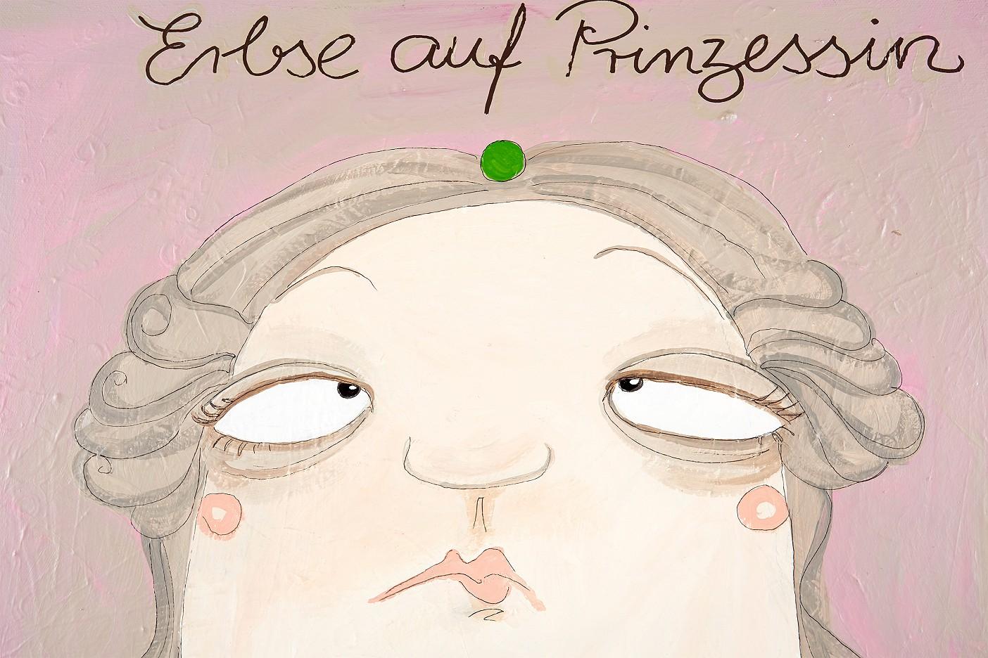 Erbse auf Prinzessin