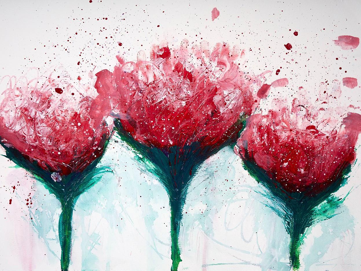 Königsblumen rot