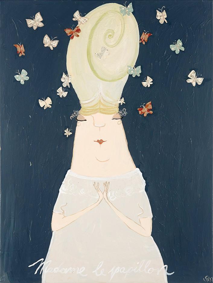 Madame Le papillion