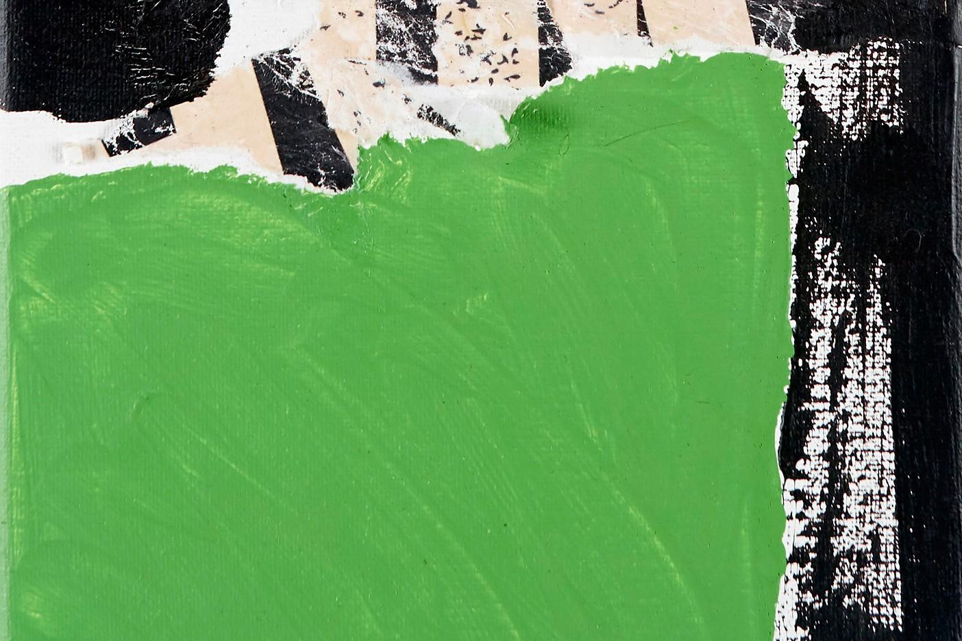 Green White Black