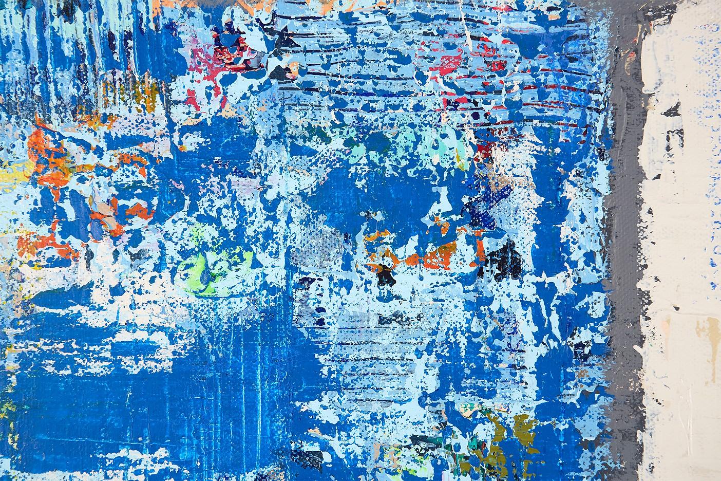 Pastellis -blau-