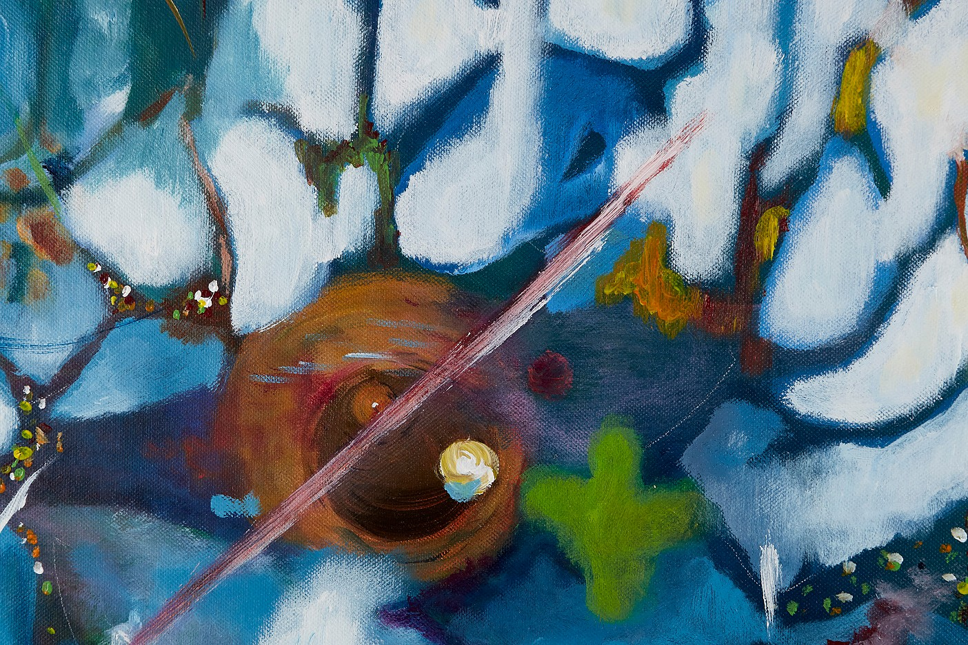 Herbst-Teich aus der Serie Verborgenes - Unter der Oberfläche