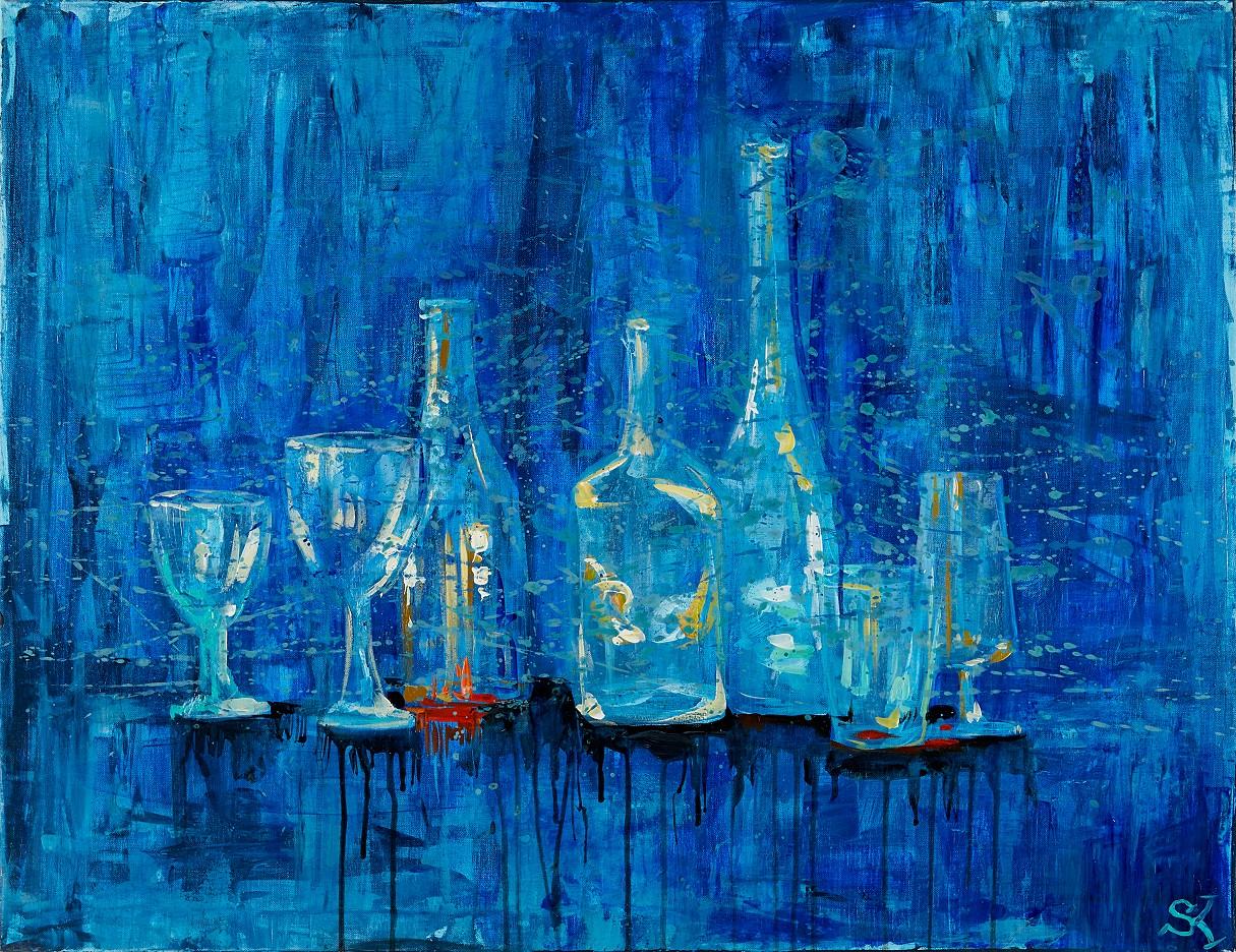 Stillleben (Flaschen)